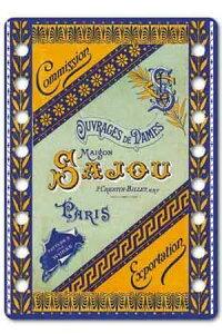 【DM便対応】Sajouオーガナイザー糸巻きサジューフランスメゾンサジューCAR_ORG_001_JARNAC