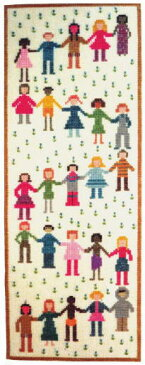 フレメ クロスステッチ刺繍キット Children of the world 世界の子供たち Haandarbejdets Fremme デンマーク 北欧 上級者 輸入 IW 30-4932