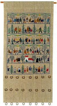 フレメクロスステッチ刺繍キットクリスマスアドベントカレンダーJulemotiver輸入HaandarbejdetsFremme10UGB上級者34-2886,01