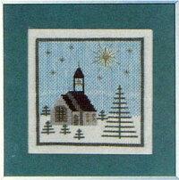 フレメクロスステッチ刺繍キットKiekeクリスマスの教会HaandarbejdetsFremmeデンマーク北欧10BEH上級者30-5663