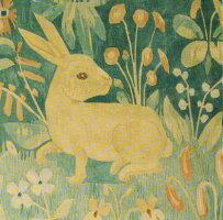 フレメプチポワン刺繍キット輸入KaninpudeuldgarmウサギのクッションST.18HaandarbejdetsFremmeデンマーク北欧刺しゅう上級者20-035220-352