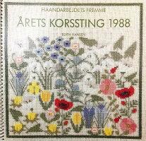 フレメクロスステッチ刺繍キットLILLEIDA'SBLOMSTERイーダの花HaandarbejdetsFremmeデンマーク北欧10BEH上級者30-6326