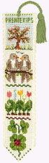 クロスステッチ刺繍キット輸入ル・ボヌール・デ・ダムLeBonheurdesDames春のブックマーカーMarque-pageprintemps刺しゅうフランス初心者4532