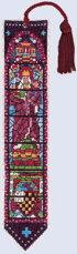 【DM便対応】ル・ボヌール・デ・ダムLeBonheurdesDames窓のブックマーカーMarque-pagevitrauxクロスステッチAida半製品18ctキット刺しゅうフランス4536