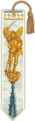 【DM便対応】ル・ボヌール・デ・ダムLeBonheurdesDamesブックマーク/モン・サン・ミッシェルMarque-pagelemontstmichell'archangeクロスステッチAida半製品18ctキット刺しゅうフランス4524
