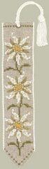 クロスステッチ刺繍キット輸入ル・ボヌール・デ・ダムLeBonheurdesDamesブックマーク/エーデルワイスMarque-pageedelweissフランス上級者4558