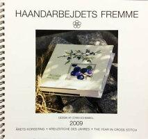 【中古】フレメ2009カレンダーConniSchimmell図案HaandarbejdetsFremmeチャートKREUZSTITCHクロスステッチデンマーク北欧刺しゅう