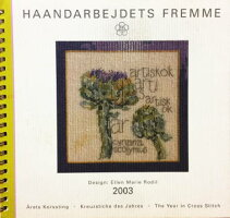 【中古】フレメ2003カレンダーELLENMARIERODIL図案HaandarbejdetsFremmeチャートKREUZSTITCHクロスステッチデンマーク北欧