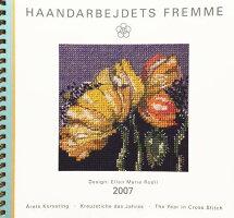 【中古】フレメ2007クロスステッチ刺繍図案カレンダーELLENMARIERODIL図案HaandarbejdetsFremmeデンマーク北欧