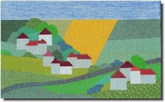【送料無料】BAHMANNバーマンNordischeLandschaft北欧の風景12Bクロスステッチキットドイツ刺しゅう30-9068