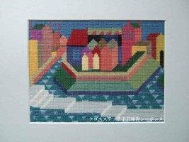 BAHMANN(バーマン)クロスステッチ刺繍キット【忘れらた都市】ドイツ輸入上級者30-9016