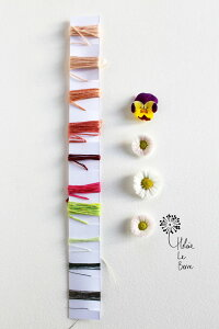 "【DM便対応】HeleneLeBerre刺しゅうEmbroideryKit""GRÂCE""-EmbroideryKit""GRACE""キットフランス刺しゅう"