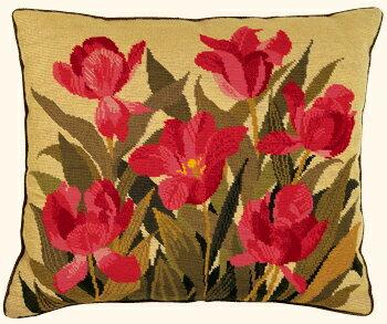 【送料無料】EVA ROSENSTAND 紫のチューリップ Purple tulip クロスステッチ キット デンマーク 北欧 刺しゅう 01-0412