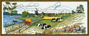 クロスステッチ刺繍キット輸入EVAROSENSTANDデンマークDanmarkdejligst2北欧上級者12-724