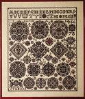 PERMIN ハンブルク Vierlande 1826 ペルミン 刺繍 キット デンマーク 39-4410 【送料無料】