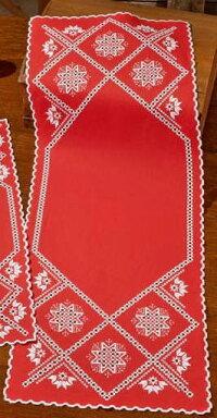 PERMINハーダンガー・スノーフレークHardangersnowflake刺繍キットデンマーク北欧刺しゅうペルミン75-7635【DM便対応】