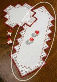PERMINハーダンガーHardanger刺繍キットデンマーク北欧刺しゅうペルミン63-1862【DM便対応】