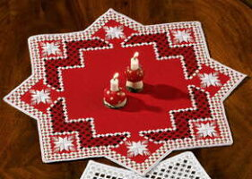 PERMINハーダンガーHardanger刺繍キットデンマーク北欧刺しゅうペルミン10-0687【DM便対応】