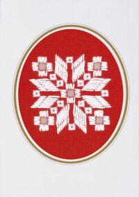 PERMINクリスマス・ハーダンガー・ショートChristmasHardangerShort刺繍キットデンマーク北欧刺しゅうペルミン17-6748【DM便対応】