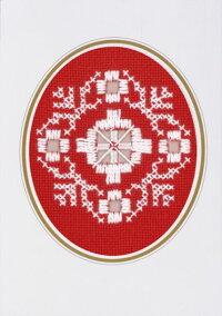 PERMINクリスマス・ハーダンガー・ショートChristmasHardangerShort刺繍キットデンマーク北欧刺しゅうペルミン17-6749【DM便対応】