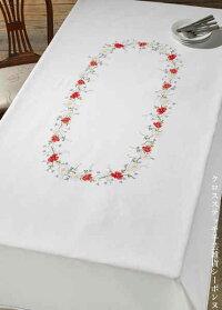 ペルミンクロスステッチ刺繍キット夏のテーブルクロス輸入北欧デンマーク上級者58-8848