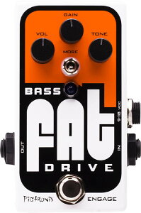 Pigtronix Analog Tube Emulator & Overdrive for BassPiGtRONiX《ピグトロニクス》Bass FAT Drive