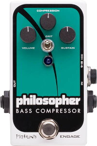 Pigtronix Specialty Bass Comp with BlendPiGtRONiX�ԥԥ��ȥ�˥�����Philosopher Bass Compr...
