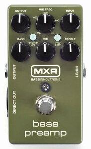 Bass PreampMXR M-81 Bass Preamp
