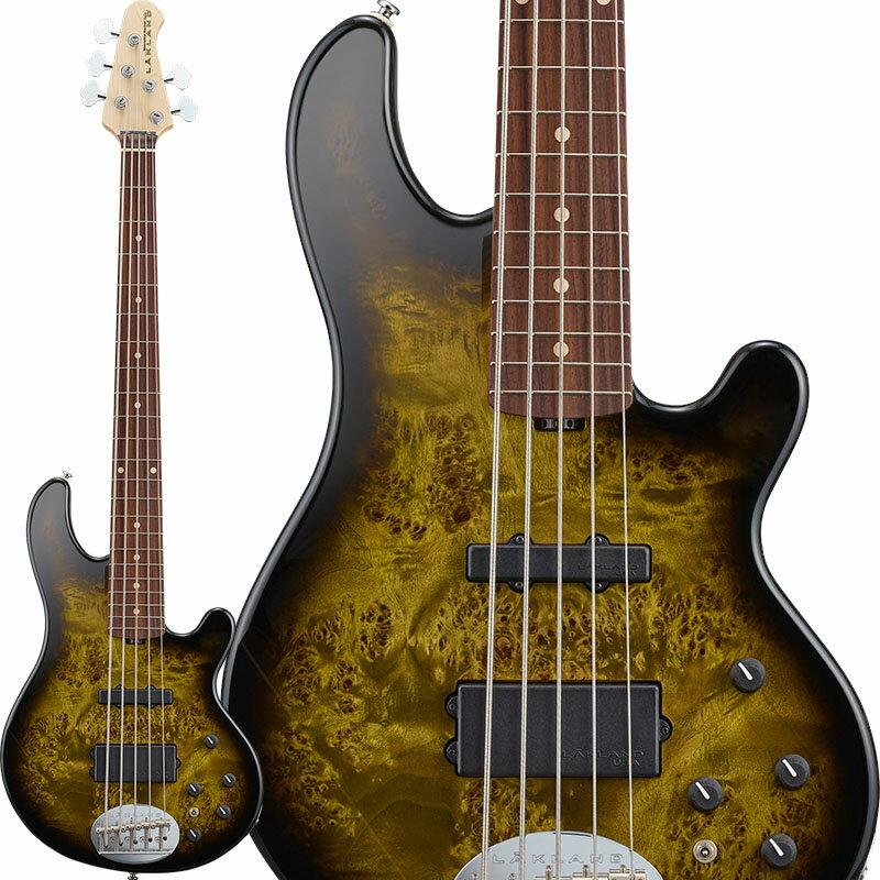 ベース, エレキベース LAKLAND Shoreline Series SL55-94 Deluxe Poplar Burl (Dark Oak Green SunburstR) 5