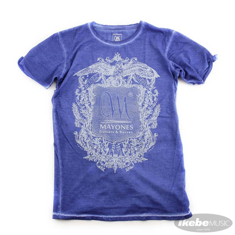 トップス, Tシャツ・カットソー MAYONES Mayones Clash T-Shirt Denim Blue L-size