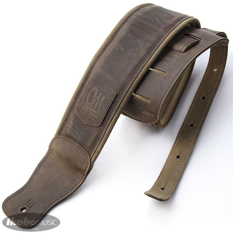 アクセサリー・パーツ, ストラップ MAYONES Leather Strap Dark Brown MASTR04