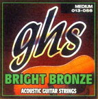 GHS Bright Bronze 80/20 Copper BB20X【Extra Light/11-50】