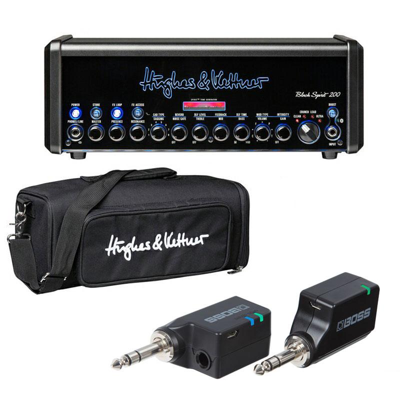 ギター用アクセサリー・パーツ, アンプ Hughes Kettner Black Spirit 200 BS200BAG BOSS WL-20 SET