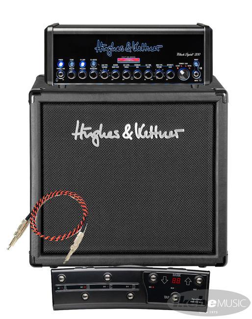ギター用アクセサリー・パーツ, アンプ Hughes Kettner Black Spirit 200 TM112 Cabinet FSM432MkIII MIDI3Belden9497 SP
