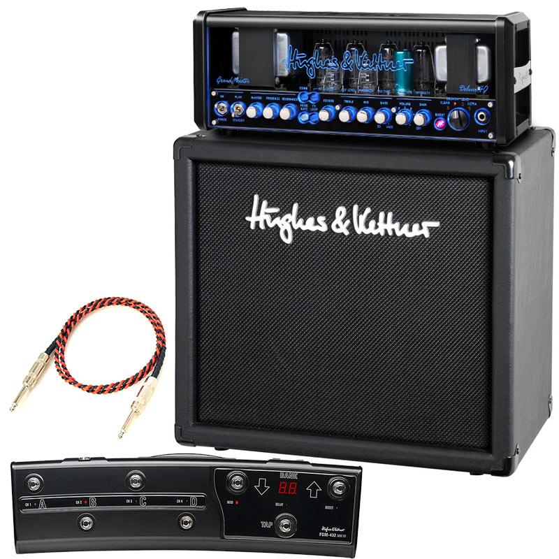 ギター用アクセサリー・パーツ, アンプ Hughes Kettner GrandMeister Deluxe40 TM112 Cabinet FSM432 MKIII3Belden9497