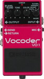 BOSS 《ボス》 VO-1 [Vocoder] 【期間限定★送料無料】 ※3月5日発売