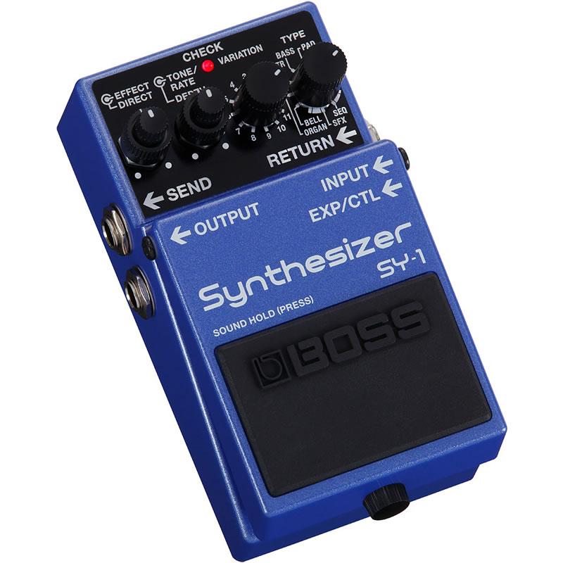 ベース用アクセサリー・パーツ, エフェクター BOSS SY-1 Synthesizer IKEBEBOSSefp5