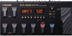 【マルチエフェクター】BOSS 《ボス》 GT-100 ver.2【箱ボロB級特価品】