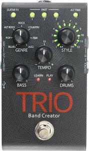 【ギター演奏に合わせてベースとドラムを自動的に生成】Digitech 《デジテック》 TRIO [Band Cr...