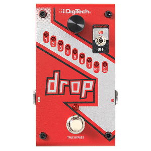 Polyphonic Drop Tune Pedal��Digitech �ԥǥ��ƥå��� Drop��10�������ͽ���