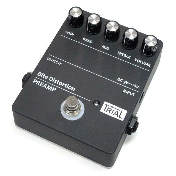 ギター用アクセサリー・パーツ, エフェクター TRIAL Bite Distortion
