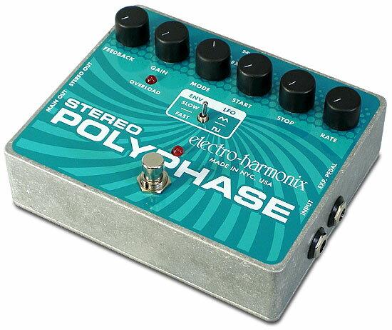 ギター用アクセサリー・パーツ, エフェクター Electro Harmonix Stereo Poly Phase