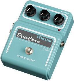 ギター用アクセサリー・パーツ, エフェクター MAXON CS550 Stereo Chorus