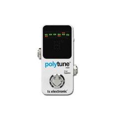 【チューナー】TC Electronic 《TCエレクトロニック》 Polytune Mini 【送料無料!】