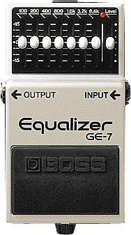 ギター用アクセサリー・パーツ, エフェクター BOSS GE-7Equalizer IKEBEBOSSefp5
