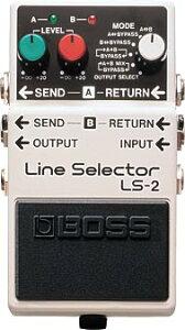 【ラインセレクター】BOSS ( ボス ) LS-2 (Line Selector)