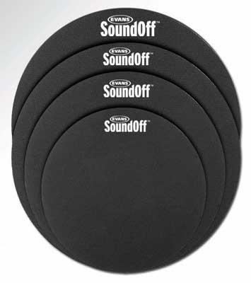 ドラム, その他 EVANS SO-2346 Sound-Off Standard Pack