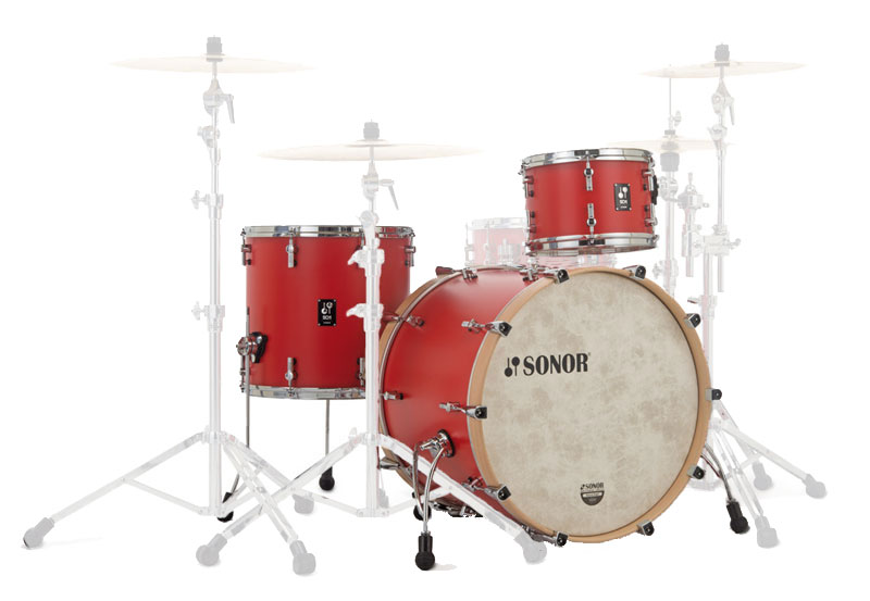 ドラム, ドラムセット SONOR SQ1-320HRR SQ1 Series 20BD Shell Set20BD12TT14FTHOT ROD RED
