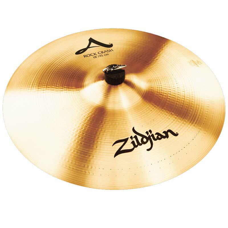 ドラム, クラッシュシンバル ZildjianA.Zildjian Rock Crash 18 NAZL18RCH