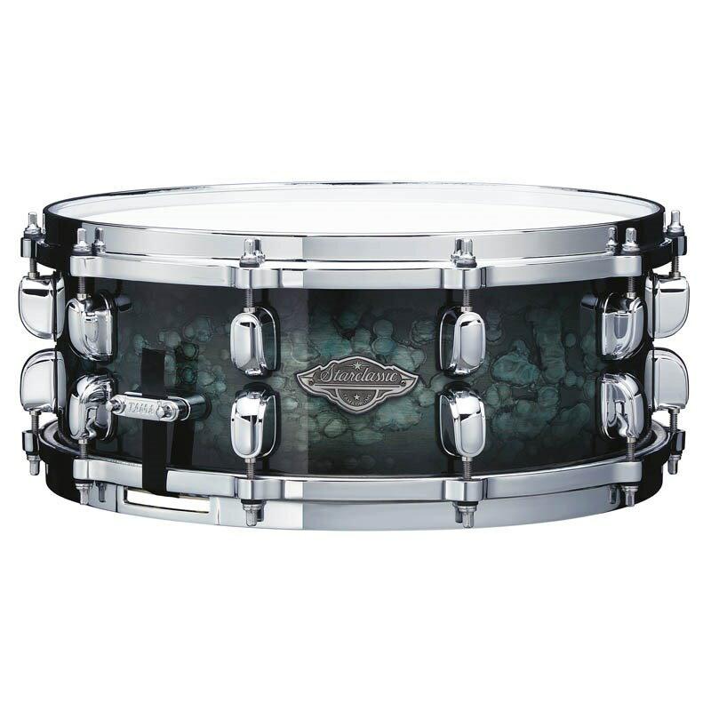 ドラム, スネア TAMA MBSS55-MSL Starclassic Performer Snare Drum 145.5 Molten Steel Blue Burst